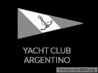 Logo Yacht Club Argentino – Escala de Grises